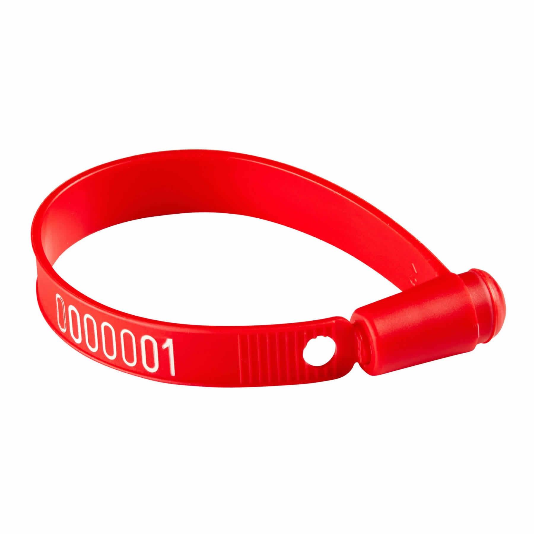 4001 Sello de seguridad de plástico tipo cinturón