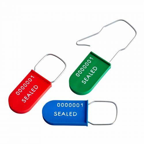 8001 Sello de seguridad inviolable de plástico tipo candado